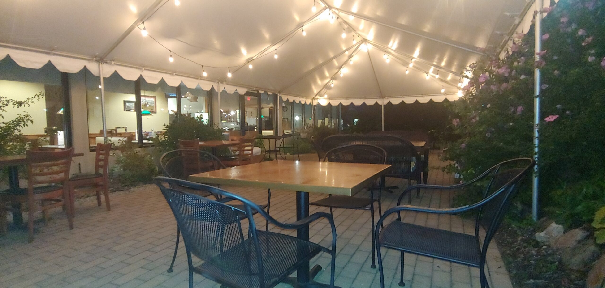 Holiday's Heated Outdoor Patio